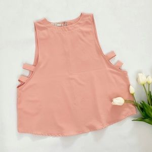 bishop + young   side strap top